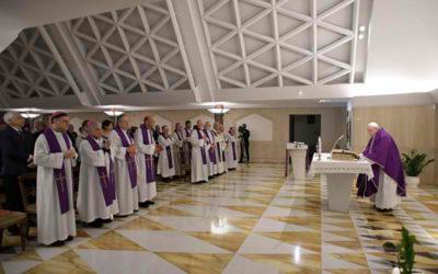 Devil targets those who succumb to despair, negativity, pope says