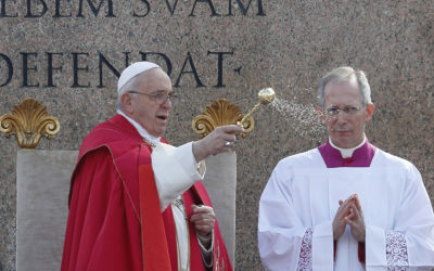 Embrace the cross, trust God will triumph, pope says on Palm Sunday