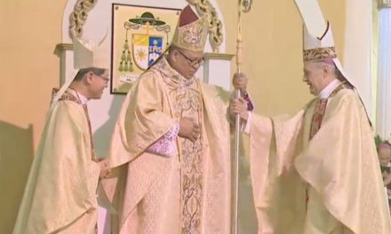 New military bishop assumes post
