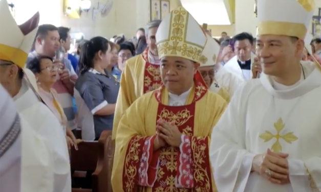 New bishop installed in Antique