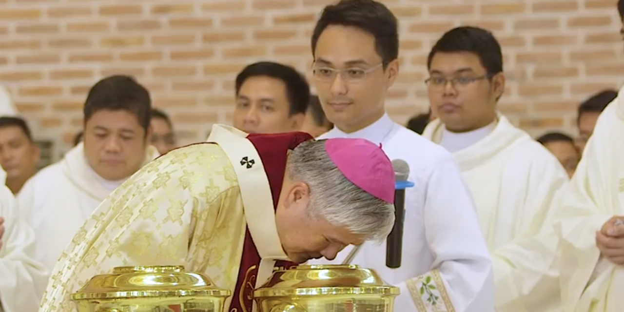 Archbishop Soc calls priests to be 'real witnesses' despite threats