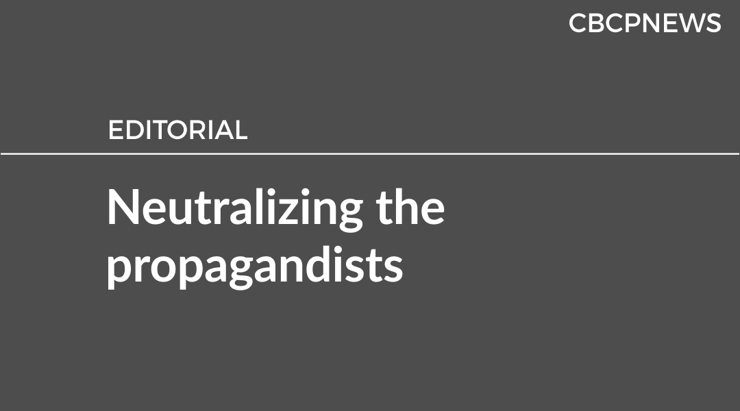 Neutralizing the propagandists