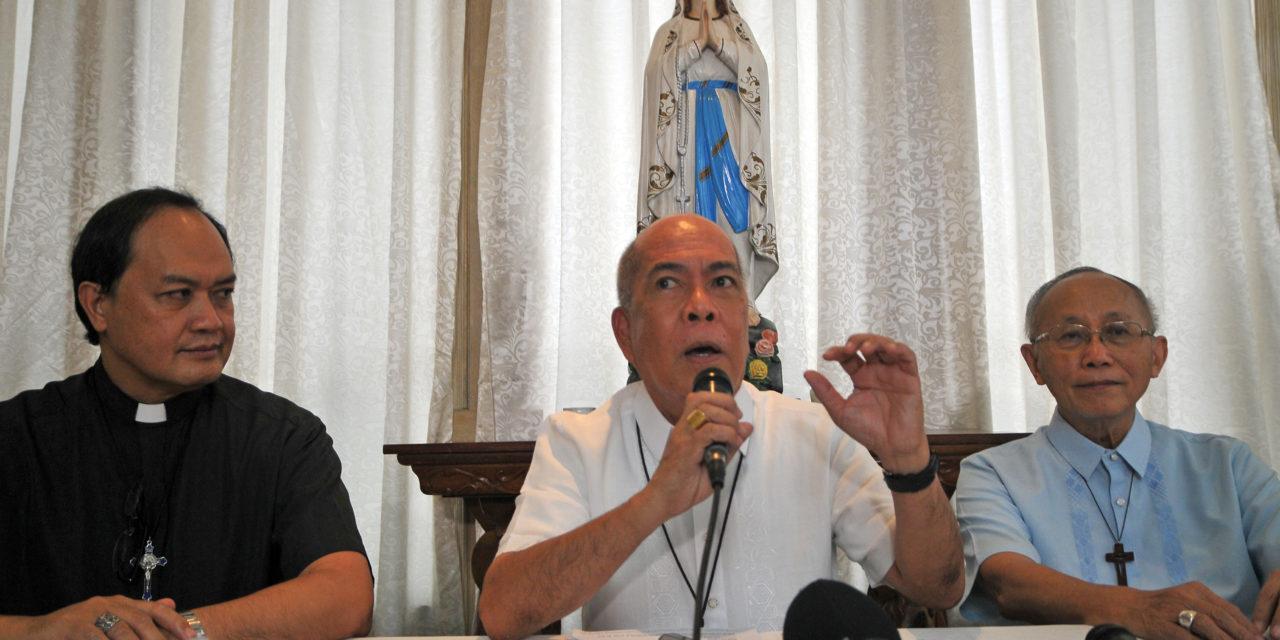 CBCP chief slams 'satans' behind drugs trade