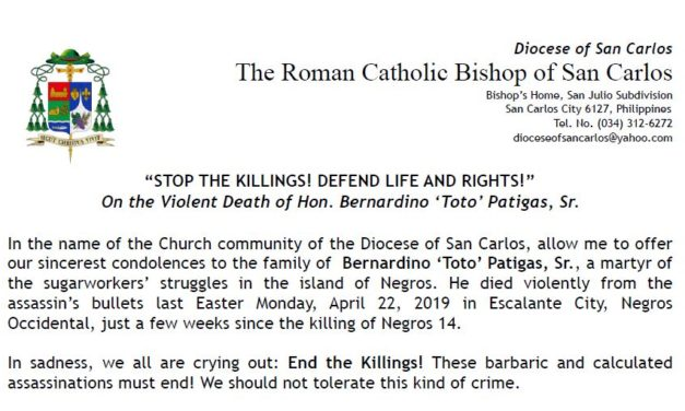 """""""STOP THE KILLINGS! DEFEND LIFE AND RIGHTS!"""""""