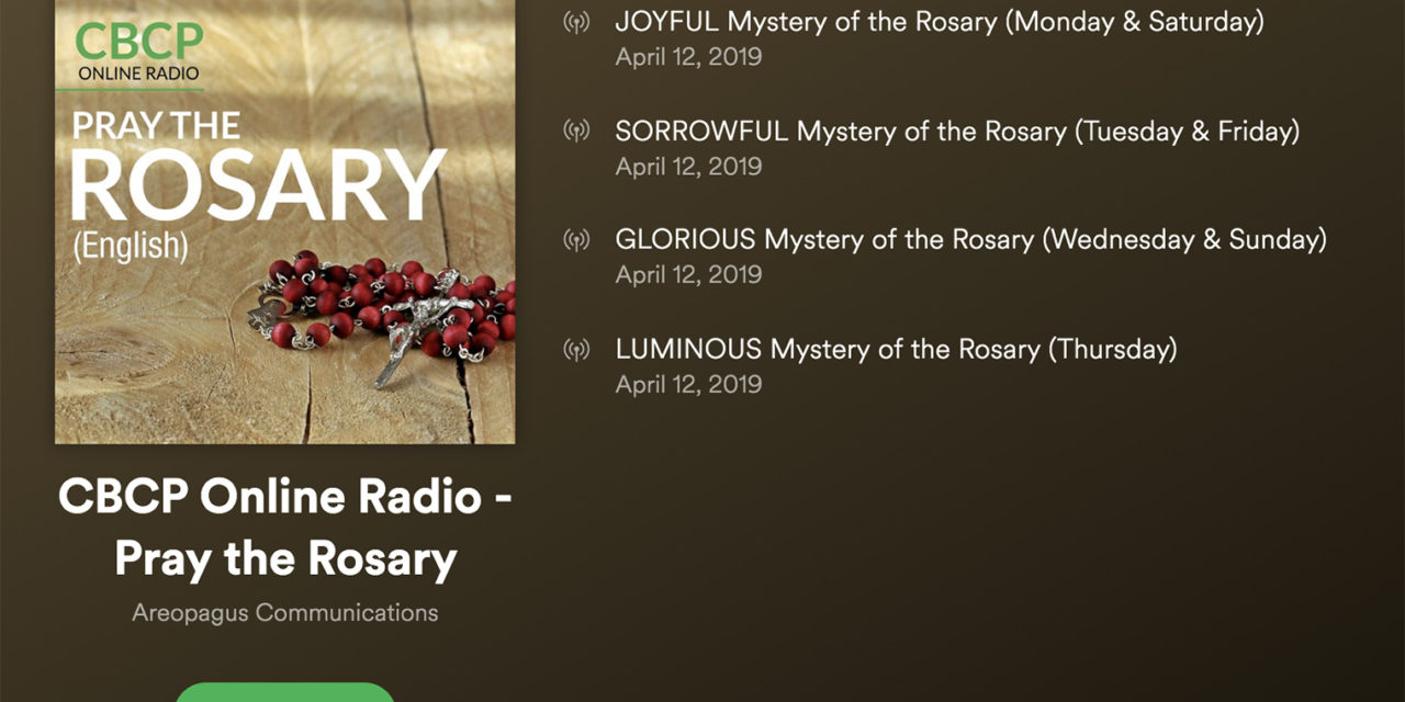 Looking for Catholic things to listen to on Spotify?