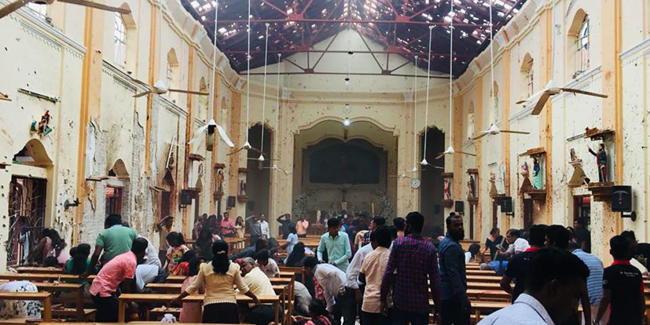 Philippine bishops condemn Sri Lanka terror attacks