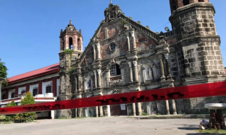 Pampanga's old churches closed after quake