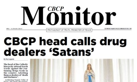 CBCP Monitor Vol 23 No 7