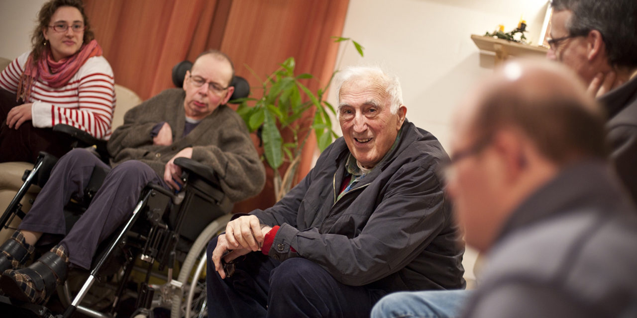 Pope Francis called Jean Vanier to thank him before his death