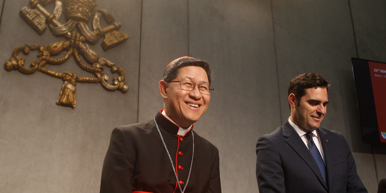 It's official: Cardinal Tagle reelected president of Caritas Internationalis