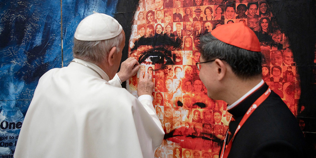 Pope leads audience with Caritas assembly delegates