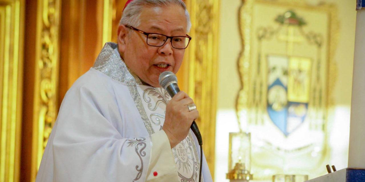 Get rid of corrupt politicians, bishop urges voters