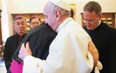 Have 'courage', Pope tells 'killing field' bishop