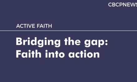 Bridging the gap: Faith into action