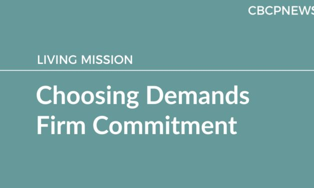 Choosing Demands Firm Commitment