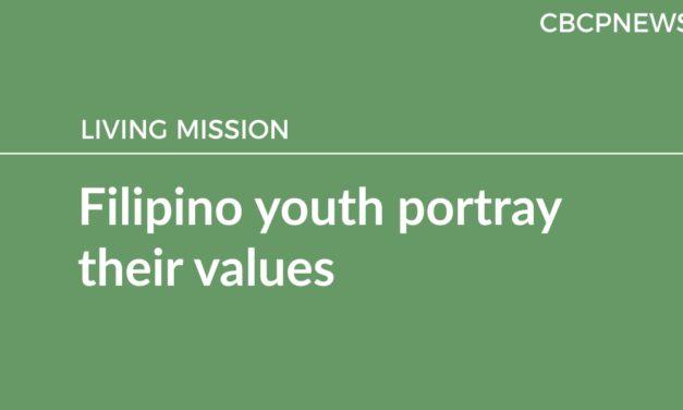 Filipino youth portray their values