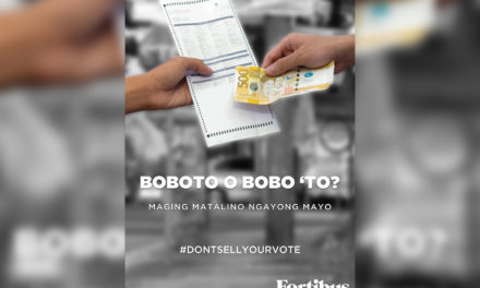Students launch campaign against vote buying