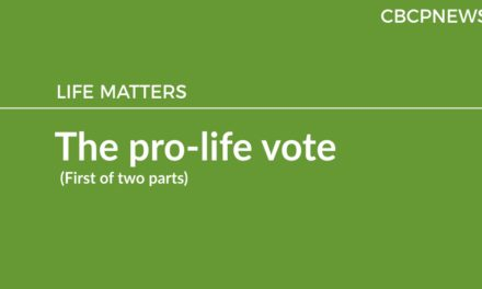 The pro-life vote