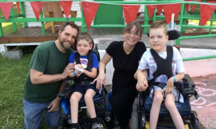 How this mom of disabled children is helping others to 'accept the gift'