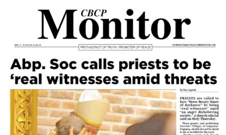 CBCP Monitor Vol 23 No 8