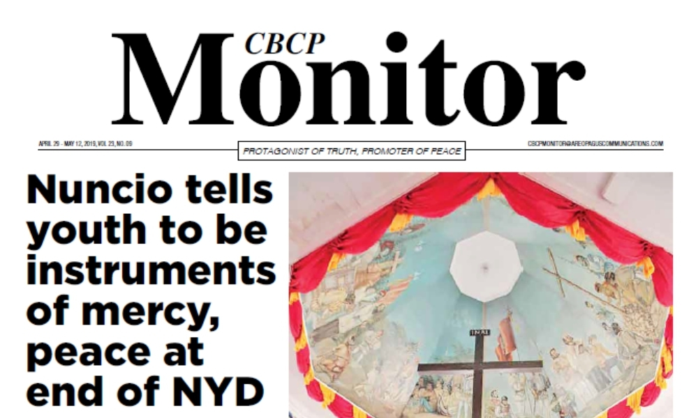 CBCP Monitor Vol 23 No 9
