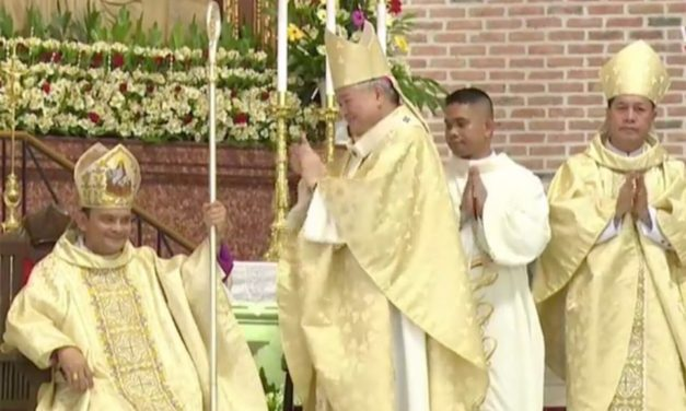Auxiliary bishop ordained for Pangasinan