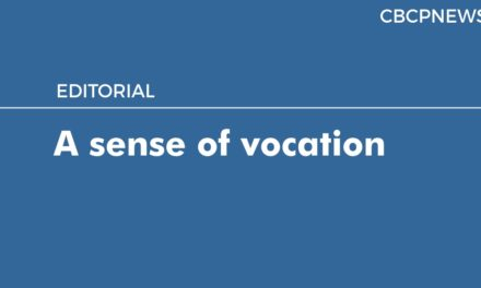 A sense of vocation