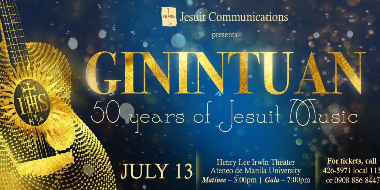 """JesCom, JMM pay tribute to Jesuit Music with """"Ginintuan"""""""