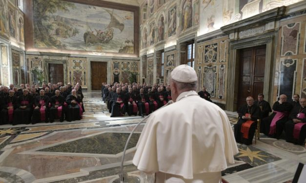 Pope tells his ambassadors not to criticize him behind his back
