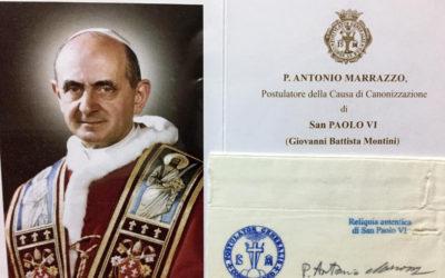 St. Paul VI relic up for veneration on June 29