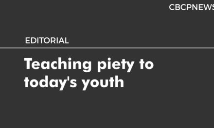 Teaching piety to today's youth