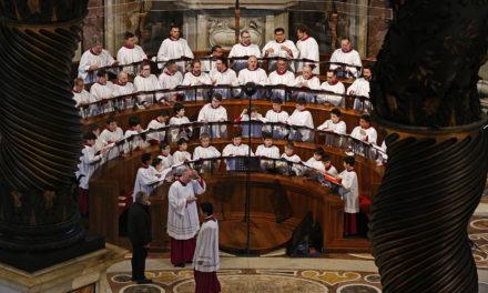Sistine Chapel Choir director steps down