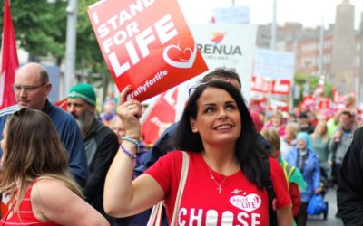 Thousands of Irish pro-lifers rally in Dublin, say abortion law must go