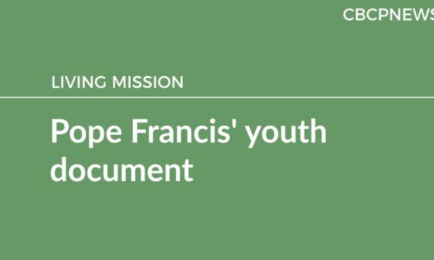 Pope Francis' youth document