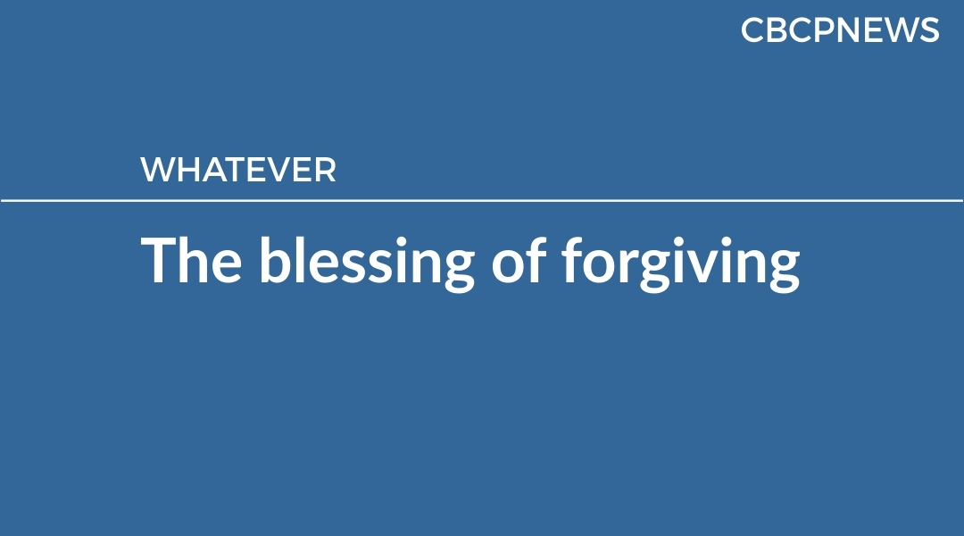 The blessing of forgiving
