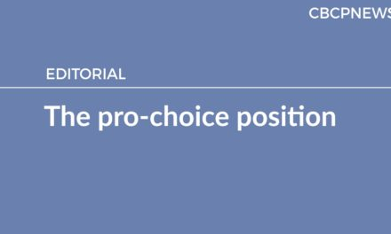 The pro-choice position