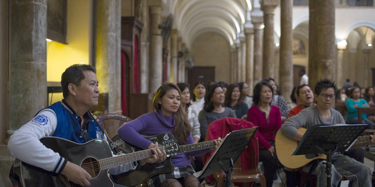 Bishop leading migration ministry visits OFWs in Jordan, Lebanon