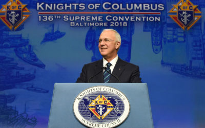 Knights give over $185 million to charity, 76 million service hours in 2018