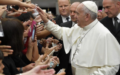 Church is a mother to all, remains close to those who suffer, pope says