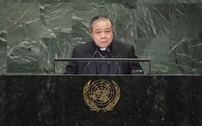 Vatican U.N. nuncio laments 'cycle of violence' surrounding 9/11 attacks