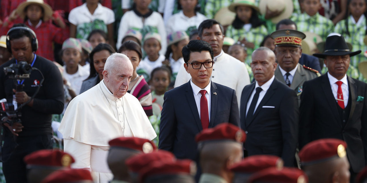 Pope Francis begins his Apostolic Journey to Madagascar