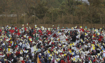 Solidarity, not poverty, is God's plan, pope says in Madagascar