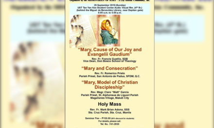 Marian seminar underscores Christian discipleship
