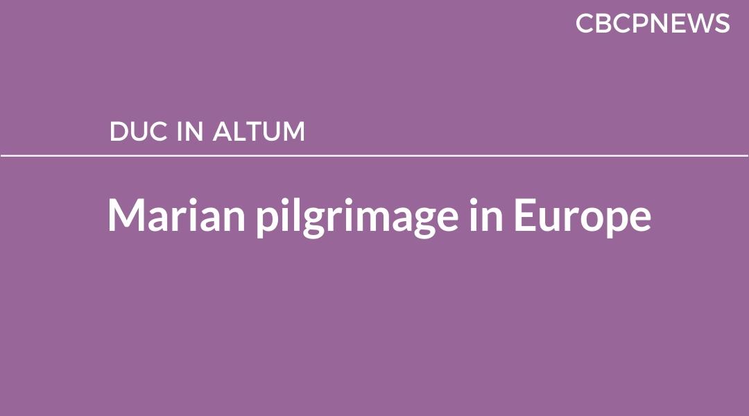 Marian pilgrimage in Europe