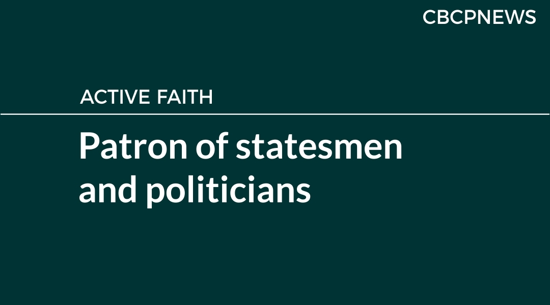 Patron of statesmen and politicians