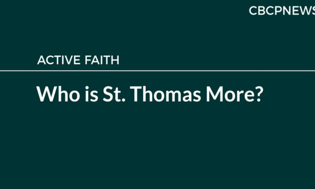 Who is St. Thomas More?