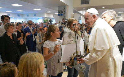 God loves, rescues even those in the 'hell' of addiction, pope says
