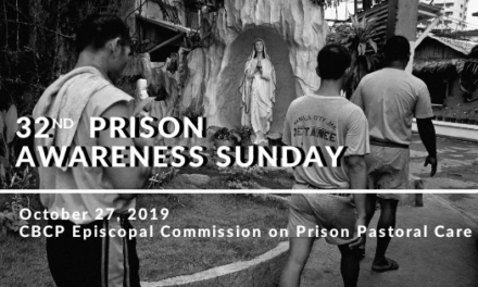 Message on Prison Awareness Sunday
