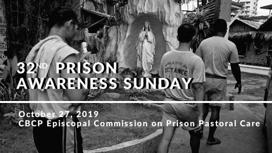 Message on Prison Awareness Sunday