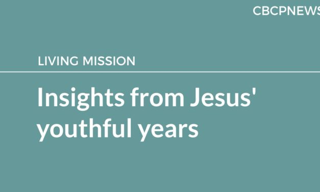 Insights from Jesus' youthful years